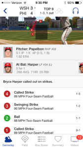 Bryce Harper gets screwed on pitches #1 and #4