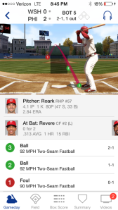 Pitch #2, clearly a strike, is called a ball